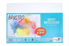 Brustro Watercolour Papers 300 GSM A3 (Pack of 5+1 free Sheets)