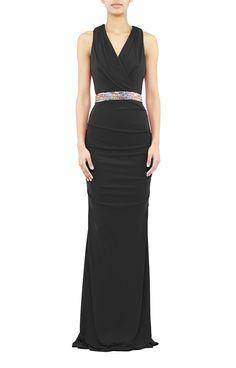 Nicole Miller - Embellished Gown