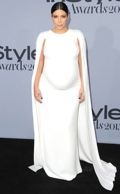 Kim Kardashian from Stars at the 2015 InStyle Awards | E! Online