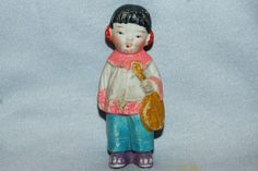 Vintage / Bisque Doll / Girl / Asian / Girl / by AmericanHomestead