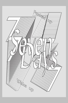 Galerie / Autotypography : une affiche typo par jour / étapes: design & culture visuelle