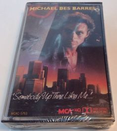 MICHAEL DES BARRES Tape Cassette SOMEBODY UP THERE LIKES ME... 1986 Mca Records