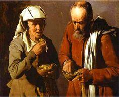 George de La Tour, The Porridge Eaters    developmentalidealism.org