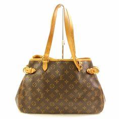 a0cf87236dc5 Louis Vuitton Batignolles Horizontal M51154 Brown Monogram Tote Bag 10900