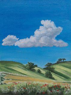 Облако, пейзаж, небо