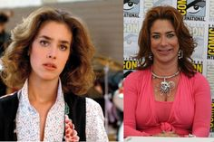 Claudia Wells as Jennifer Parker | Back to the Future: Then and Now from 8Ball.co.uk