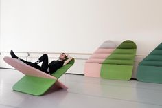 """Daydream"" Sculptural Seat by Joynout"