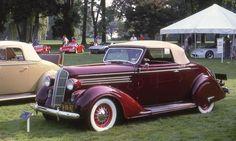 1936 Dodge convertible
