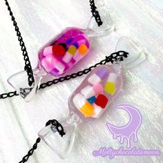Menhera happy pills candy necklace!