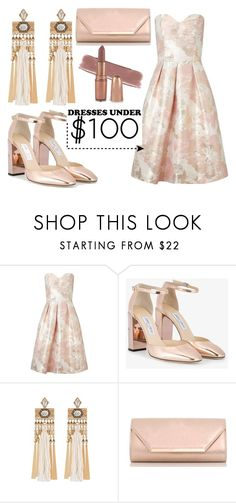 """""""Promenade in the park..."""" by amanda-renee-kay ❤ liked on Polyvore featuring Miss Selfridge, Jimmy Choo and Dorothy Perkins"""