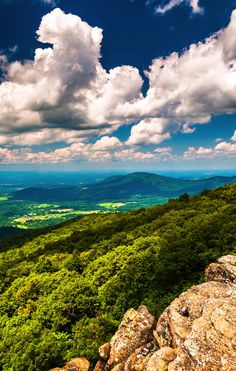 Shenandoah National Park in Virginia plays host to 101 miles of the Appalachian Trail.