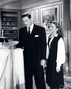 Cry Wolf starring Barbara Stanwyck and Errol Flynn