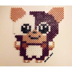 Gizmo Gremlins hama beads by _beads_art