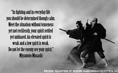 Samurai Miyamoto Quotes - Japanese Inspirational Fighting Thoughts Images Wallpapers, Photos, Pictures