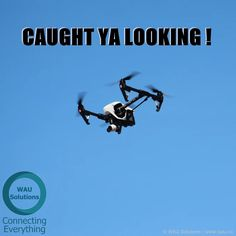 #Smartphone catches #drone ... we all have cameras fly guy ;~)
