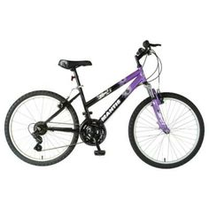 "Mantis Raptor 24"" Girls Bicycle Black 24 in."