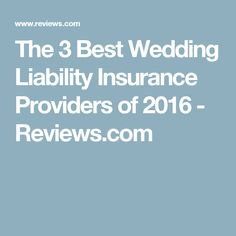 If You Purchased Wedding Insurance Can Turn The Whole Thing Over To Carrier For Any Ensuing Litigation Took