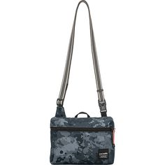 Pacsafe RFIDSlingsafe LX50 Anti-Theft Mini Crossbody Bag - Grey Camo -... ($35) ❤ liked on Polyvore featuring bags, handbags, shoulder bags, grey, grey purse, mini crossbody, gray crossbody purse, shoulder strap handbags and mini crossbody handbags