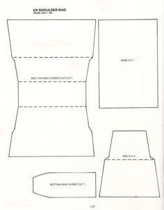 Doctor Who Crafts, Instructions for Doctor Who/K9 Shoulder Bag