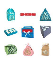 Cricut Fancy Boxes Project Cartridgenull