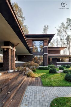 Prairie House by 33bY Architecture  http://www.qlore.com/prairie-house-by-33by-architecture/