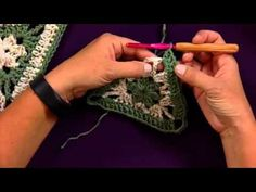Learn How to Make Advanced Crochet Motifs with Red Heart Yarns - YouTube