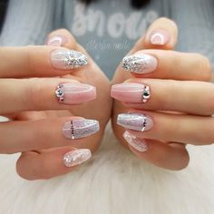 Idea for nails for summer days