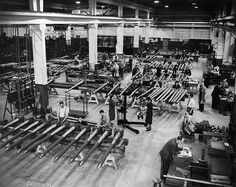 Exhibition sheds light on wartime shadow factories History Online, Vintage Pictures, Vintage Industrial, World War Ii, Wwii, Restoration, Germany, August 2013, Factories