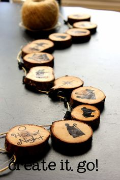 Great idea for a pyrography project!