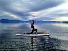 #SUP #yoga #laketahoe
