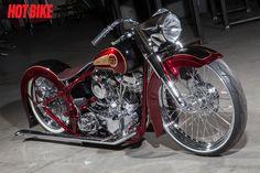 PanDejo - A Custom 2008 Harley-Davidson Panhead Softail
