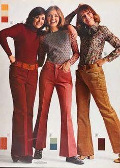 Sears catalog 1971. corduroy bell bottoms! I had mine colored rust!