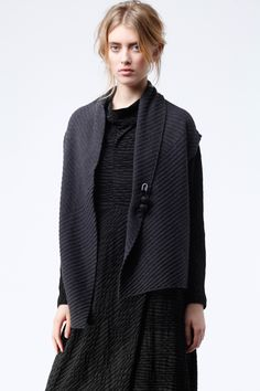 Perfect pairing at OSKA New York - Vest Pit and Dress Rita. https://newyork.oska.com/en/products/detail/waistcoat-pit-10160713010/