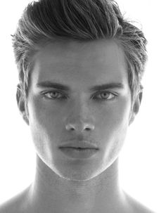 Face Men, Male Face, Beautiful Men Faces, Beautiful Boys, Img Models, Male Models, Mars In Cancer, Black And White Man, Black And White Portraits
