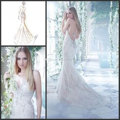 Wholesale Mermaid Wedding Dresses - Buy Luxurious Sexy Lace Mermaid Wedding Dresses Vestido De Noiva Halter Sleeveless Backless Applique Beading Crystal Beads Sweep Train Dresses 4, $191.71 | DHgate