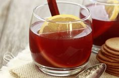 Spiced Pomegranate Apple Cider — Punchfork
