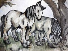 Madeliene Lachevre ~ Horses