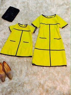 Matching Family Outfits, Cute Outfits For Kids, Mom Outfits, Toddler Outfits, Mother Daughter Fashion, Mom Daughter, Mother Daughters, Mom And Baby Dresses, Little Girl Dresses