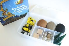 A Goodnight, Goodnight, Construction Site play dough kit
