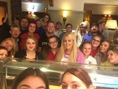 Victoria Park BF: Based in Ebbw Vale, the team at the Victoria Park Brewers Fayre  takes pride in the family atmosphere of its workplace, and in looking after its guests every day. The delicious food is renowned among customers who can't stop coming back for more of the freshly cooked classic dishes. The team at Victoria Park assembled for this 'tired but happy' group selfie at the end of a busy day recently.