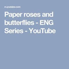 These are the collections of free tutorials and templates on how to make paper roses from different kind of paper. Green Paper, Pink Paper, Paper Roses, Butterfly Crafts, Butterfly Flowers, Butterflies, Paper Glue, Paper Crafts, Leaf Template