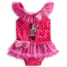 Minnie Mouse Swimsuit for Baby from disney baby