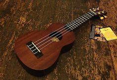 Kala MK-S MKS Makala Soprano Ukulele Uke Fitted With Aquila Strings RRP £49.99