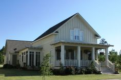 no need for the second story.. perfect bottom floor! Houseplans.com Traditional Front Elevation Plan #430-76