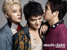 JYJ - Marie Claire Magazine August Issue '14