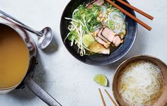 Quick Pork Pho photo -- I made this with chicken breasts, because that's what I had in the house; good