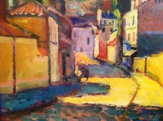 Rue d'Arcueil Henri Matisse 1899 Collection Royale, Musée des beaux arts, Copenhague.