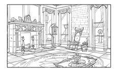 Sketch Background, Cartoon Background, Animation Background, Environment Sketch, Environment Design, Stephen Lewis, Bg Design, Illustration Art, Illustrations