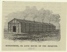 Historic accounts of Iroquois Indian villages and long houses