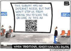 Digitalizzazione della pubblicità tradizionale...